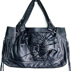 Hype Black Leather Purse